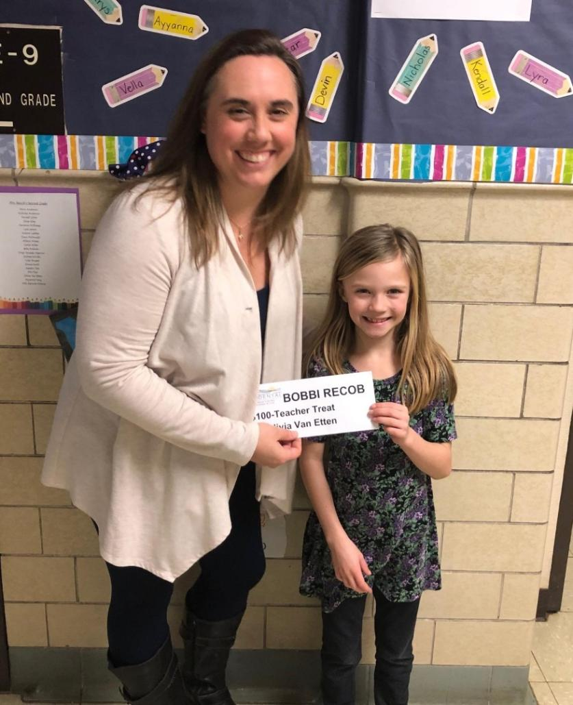Bobbi Recob, teacher at Barrie Elementary in Fort Atkinson